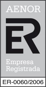 Certificado AENOR ER-0060-2006